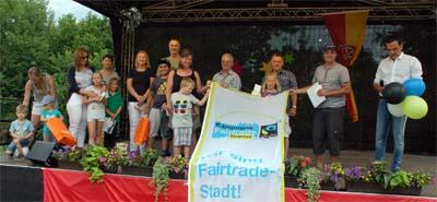 Die Sieger des Luftballonwettbewerbes